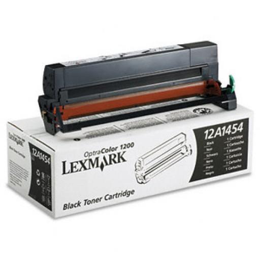 Lexmark 12A1454, Toner Cartridge Black, Optra Colour 1200- Original