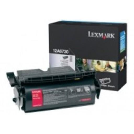 Lexmark 12A6730, Toner Cartridge Black, T520, T522, X520- Original