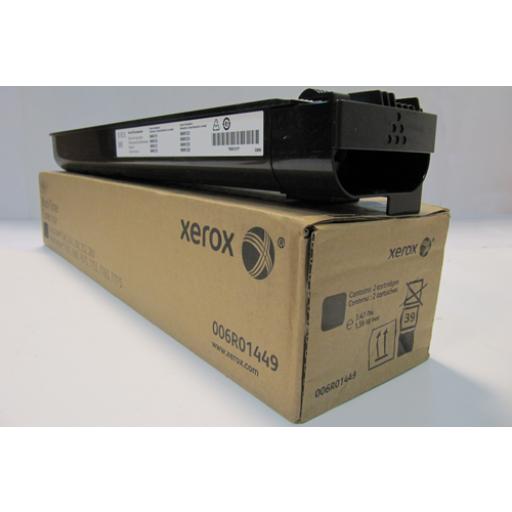 Xerox 006R01449, Toner Cartridge Twin Pack- Black, WorkCentre 7655, 7665, 7675, 7755- Original