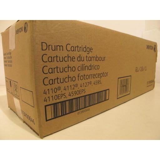 Xerox 013R00646, Drum Cartridge- Black, 4110, 4112, 4127, 4590, 4595- Genuine