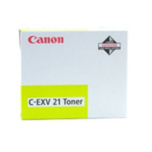 Canon 0455B002AA, Toner Cartridge Yellow, iR C2380, 2880, 3080, 3380, C-EXV21- Original