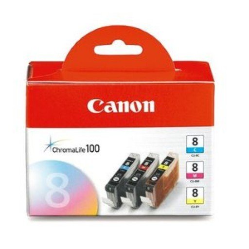 Canon 0621B026, Ink Cartridge Tri-Colour Multipack, Pixma iP3300, iP3500, iP4200, iP5100- Original