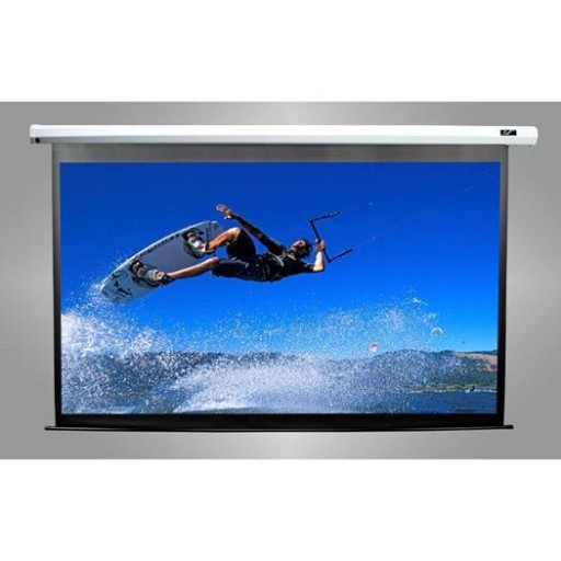 Elite VMAX100UWH2-BLACK Electric VMax Projection Screen