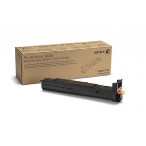 Xerox 106R01318, Toner Cartridge HC Magenta, WorkCentre 6400- Original