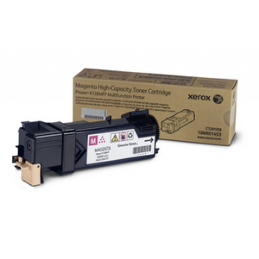 Xerox 106R01453, Toner Cartridge Magenta, Phaser 6128- Original