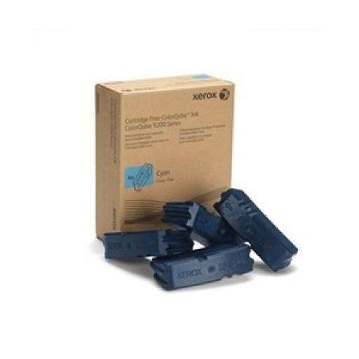 Xerox 108R00829, Solid Ink Sticks Cyan x 4, ColorQube 9201, 9202, 9203, 9301- Original