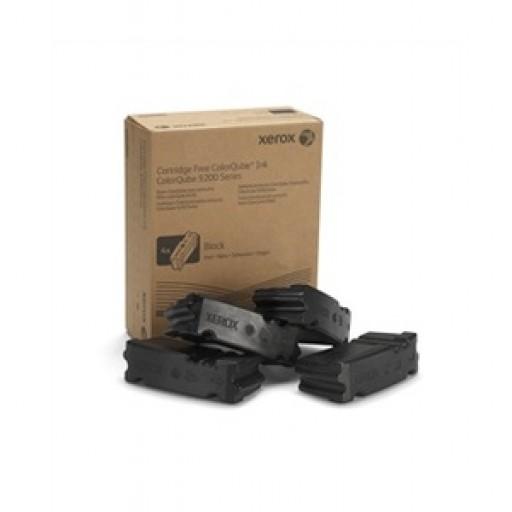 Xerox 108R00832, Solid Ink Sticks Black x 4, ColorQube 9201, 9202, 9203, 9301- Original
