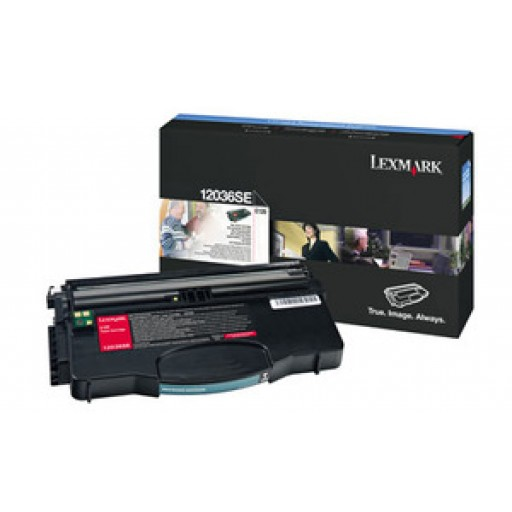 Lexmark 12036SE Toner Cartridge - Black Genuine