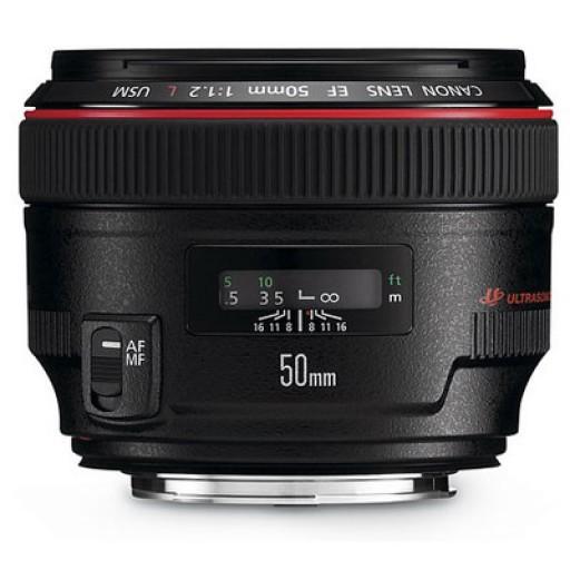 Canon Ef50mm f/1.2L Usm Lens
