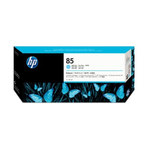 HP C9434A No.85 Ink Cartridge - Light Cyan Multipack Genuine