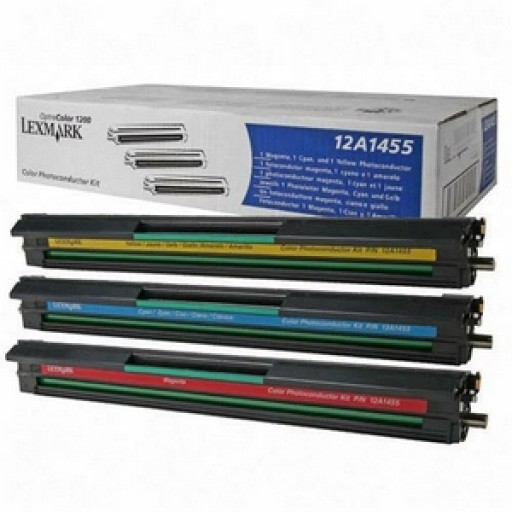 Lexmark 12A1455 PCU Image Drum - Tri-Colour Multipack Genuine