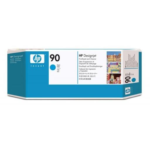 HP C5055A No.90 Cyan Printhead Genuine