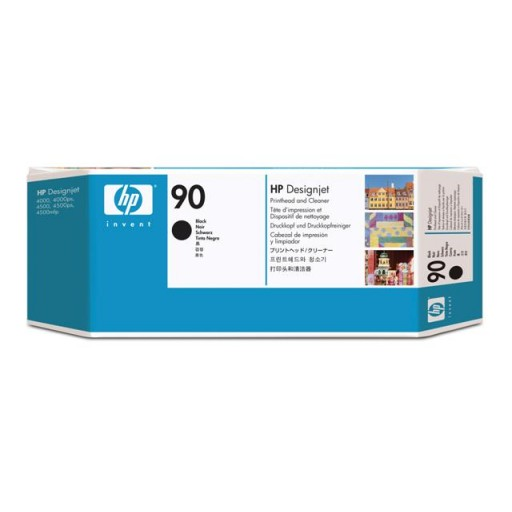 HP C5054A, No.90 Black Printhead- Genuine