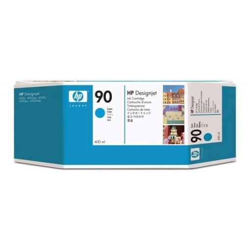 HP C5061A No.90 Ink Cartridge - HC Cyan Genuine