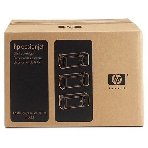HP C5085A, Ink Cartridge HC Yellow Multipack, Designjet 4000, 4500, 4520- Original