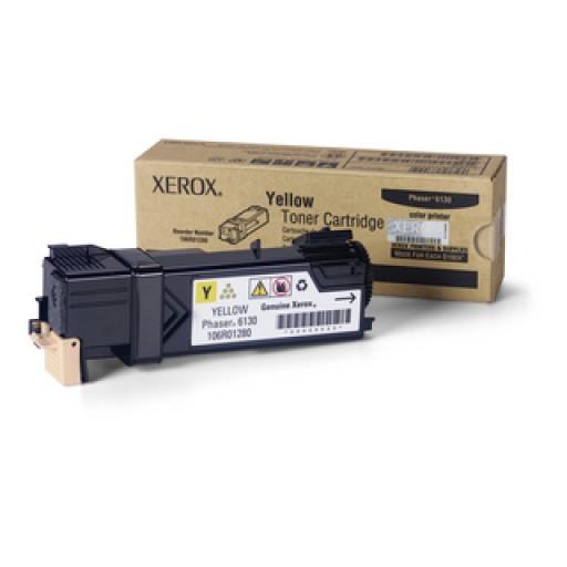 Xerox 106R01280, Toner Cartridge Yellow, Phaser 6130- Original