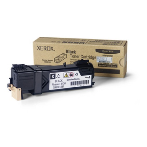Xerox 106R01281, Toner Cartridge Black, Phaser 6130- Original