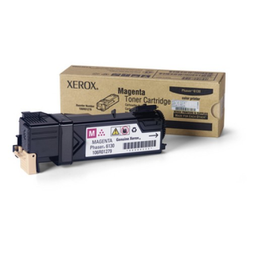 Xerox 106R01279, Toner Cartridge Magenta, Phaser 6130- Original
