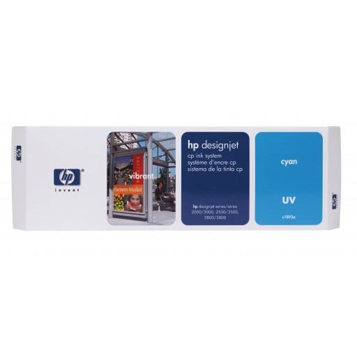 HP C1893A, Ink Cartridge Cyan, Designjet 2000cp, 2500cp, 2800cp, 3000cp- Original