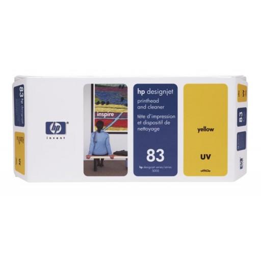 HP C4963A No.83 Yellow Printhead Genuine