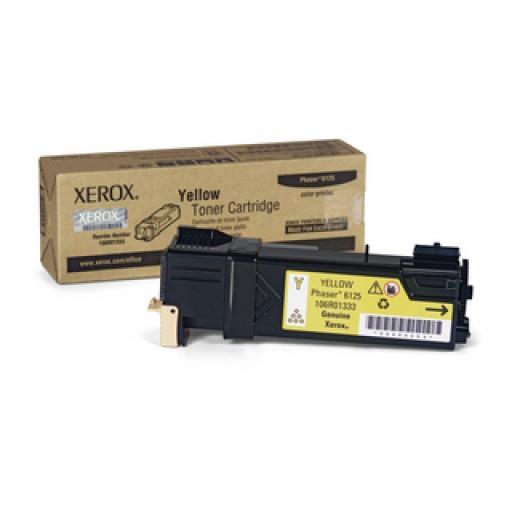 Xerox 106R01333, Toner Cartridge Yellow, Phaser 6125- Original