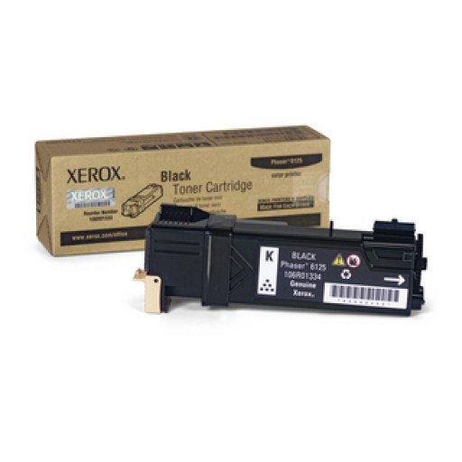 Xerox 106R01334, Toner Cartridge Black, Phaser 6125- Original