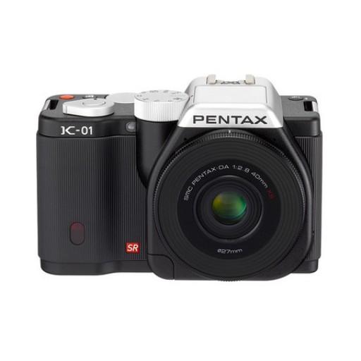 Pentax Imaging K-01 Black Single Kit Camera + 40mm Lens