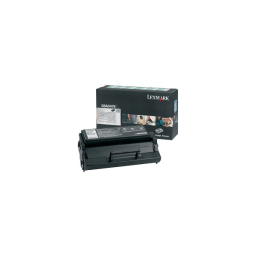 Lexmark 08A0478, Toner Cartridge HC Black, E320, E322- Original