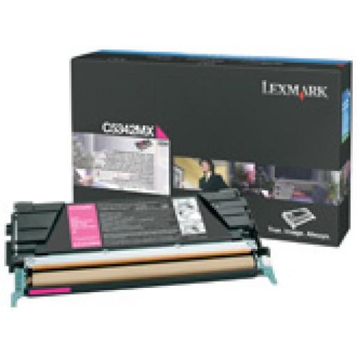 Lexmark C5342MX Toner Cartridge - Extra HC Magenta Genuine
