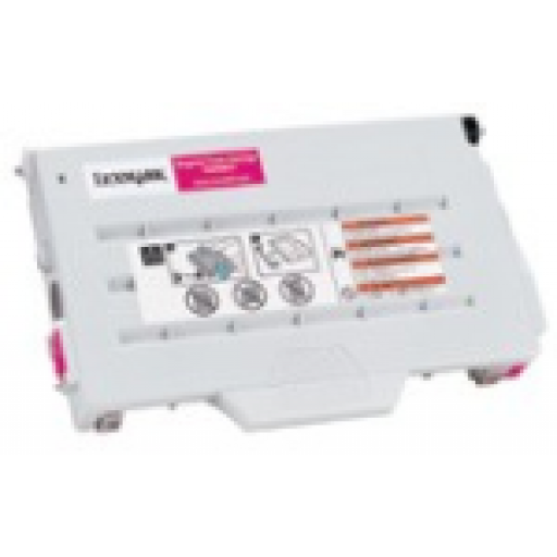 Lexmark 15W0901, Toner Cartridge Magenta, C720- Original