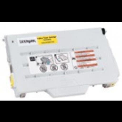 Lexmark 15W0902, Toner Cartridge Yellow, C720- Original