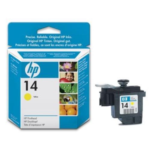 HP C4923DE No.14 Yellow Printhead Genuine