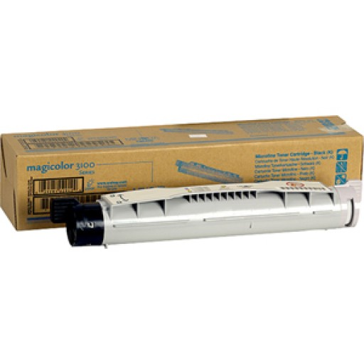 Konica Minolta 1710490-001, Toner Cartridge Black, Magicolor 3100- Original