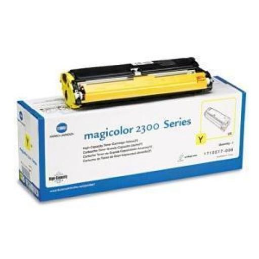 Konica Minolta MC2300 Toner Cartridge - Yellow Genuine (1710517002)