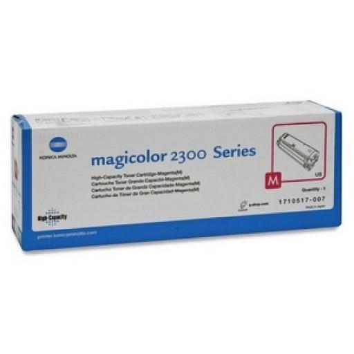 Konica Minolta 1710517003, Toner Cartridge Magenta, Magicolour2300, 2350- Original