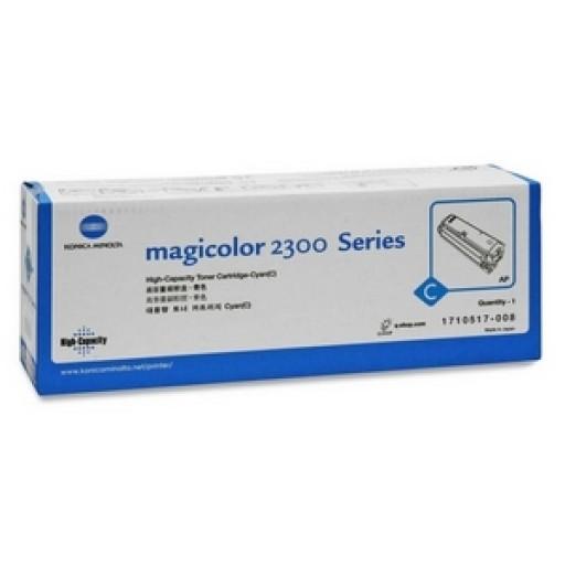 Konica Minolta 1710517004, Toner Cartridge Cyan, Magicolour2300- Original
