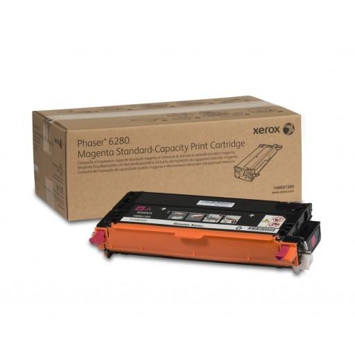 Xerox 106R01389, Toner Cartridge Magenta, Phaser 6280- Original