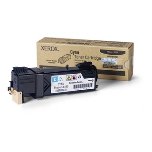 Xerox 106R01278, Toner Cartridge Cyan, Phaser 6130- Original