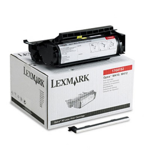 Lexmark 17G0152 Toner Cartridge - Black Genuine
