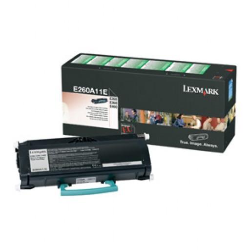 Lexmark 0E260A11E Toner Cartridge Return Program - Black Genuine