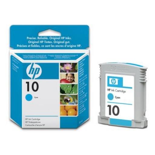HP C4841AE No.10 Ink Cartridge - Cyan Genuine
