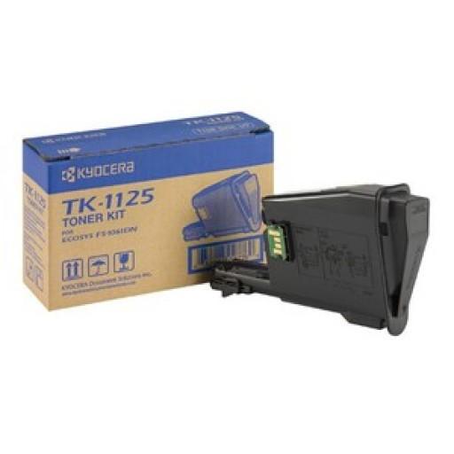 Kyocera Mita TK-1125, Toner Cartridge - Black, FS-1061DN, FS-1325- Genuine