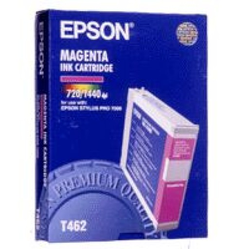 Epson T462 Ink Cartridge - Magenta Genuine