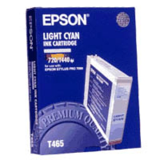 Epson T465 Ink Cartridge - Light Cyan Genuine