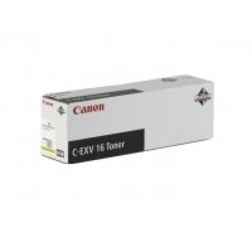 Canon 1066B002AA  Toner Cartridge- Yellow,  CLC4040, CLC5151, CEXV16- Genuine