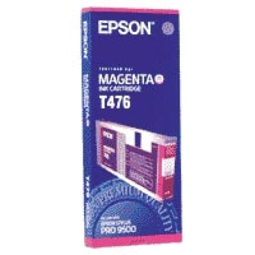 Epson T476 Ink Cartridge - Magenta Genuine
