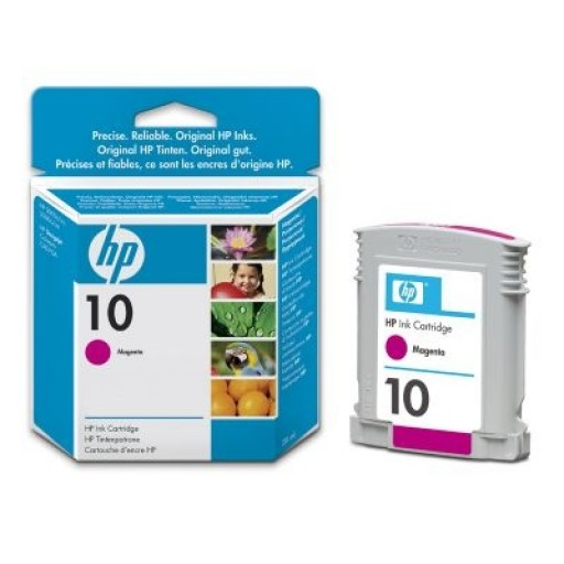 HP C4843AE No.10 Ink Cartridge - Magenta Genuine