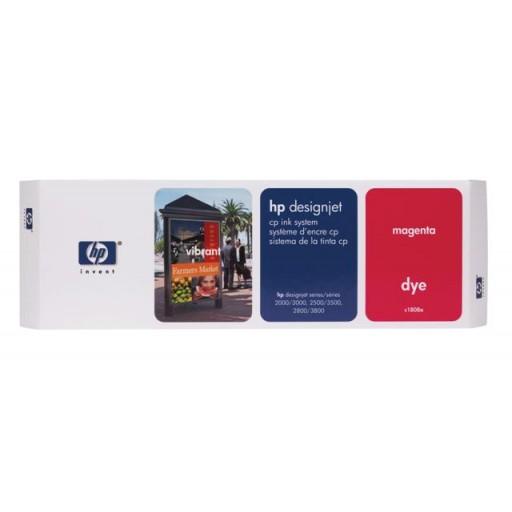 HP C1808A, Ink Cartridge Magenta, Designjet 2000cp, 2500cp, 2800cp, 3000cp- Original