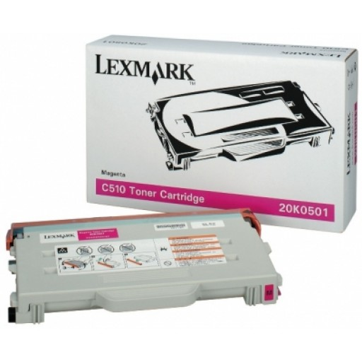 Lexmark 20K0501 Toner Cartridge - Magenta Genuine