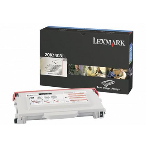 Lexmark 20K1403, Toner Cartridge HC Black, C510- Original